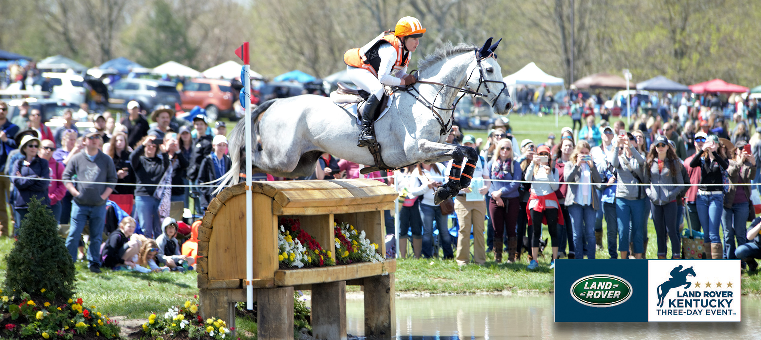 Sharon White on Cooley On Show at the 2018 Land Rover Kentucky Three-Day Event (pc: Kristi Crowe)